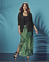 Anna Scholz Print Maxi Skirt