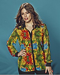 Anna Scholz Tropical Blouse & Cami