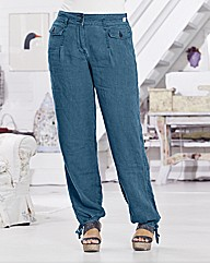 Timeout Harem Linen Trousers