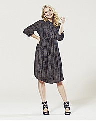 Lovedrobe Dip Hem Shirt Dress