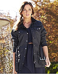 Voi Belted Waxed Jacket