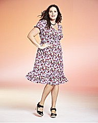 Jeffrey & Paula Floral Print Dress