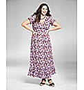 Jeffrey & Paula Floral Maxi Dress