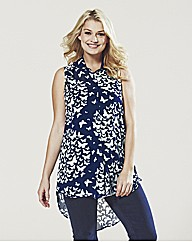 Lovedrobe Butterfly Print Blouse & Cami