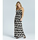 Lovedrobe Print Maxi Dress