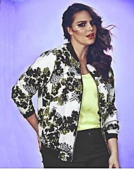 Look Printed Bomber Jacket