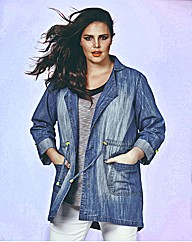 Look Denim Parka Jacket