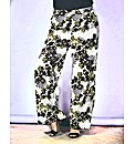 Look Printed Palazzo Trousers