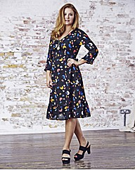 Jeffrey & Paula Print Dress