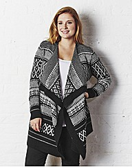 Jeffrey & Paula Fair Isle Cardigan