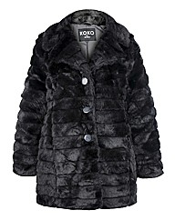 Koko Faux Fur Coat