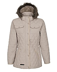 Trespass Quilted Hooded Jacket