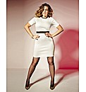 Kelly Brook Textured Dress