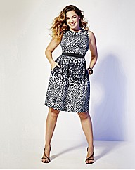 Kelly Brook Print Dress