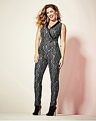 Kelly Brook Lace Jumpsuit