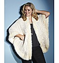 Lovedrobe Faux Fur Cape Jacket