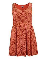 Lovedrobe GB Lace Skater Dress