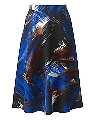 Look Printed Skirt