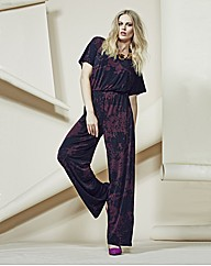 Look Printed Jumpsuit
