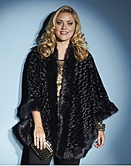 Lovedrobe Faux Fur Cape