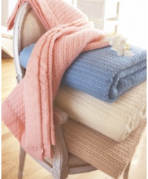 Pure New Wool Cellular Blanket