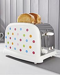 Multi Spot 2 Slice Toaster