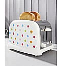 Multi Spot 2 Slice Toaster