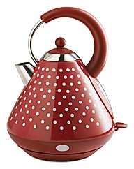 Polka Dot Pyramid Kettle