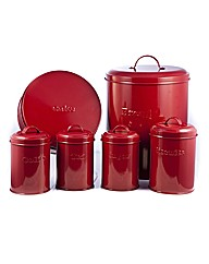 6 Piece Sabichi Kitchen Storage Set