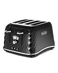 Delonghi Brillante 4 Slice Toaster