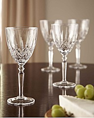 BOGOF Set of 4 Lead Crystal Glasses