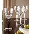 BOGOF Set of 4 Lead Crystal Glasses