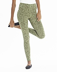 Camouflage Heart Print Leggings