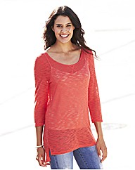 Lightweight Slub Jumper