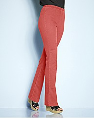 Coral Bootcut Jeggings Length 34in