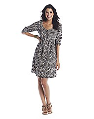 Tall Ditsy Print Skater Dress