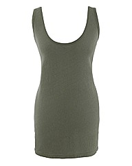 Regular Neppy Jersey Vest
