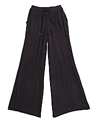Regular Wide Leg Trousers