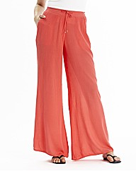 Short Wide Leg Trousers