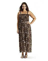 Tall Animal Print Maxi Dress