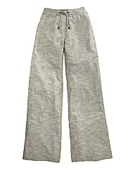 Linen Mix Trouser - Length 33in