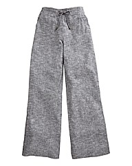 Linen Mix Trousers - Length 29in