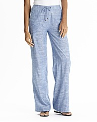 Linen Mix Trousers - Length 30in