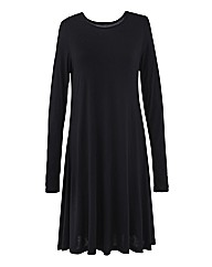 Petite Jersey Swing Dress