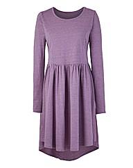 Textured Skater Dress
