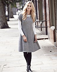 Sweat Skater Dress