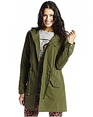 Unlined Hooded Parka