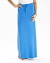 Maxi Skirt With Draw Cord