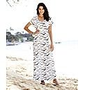 T-Shirt Seagull Maxi Dress