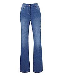 Simply Be Kim Bootcut Jeans Reg